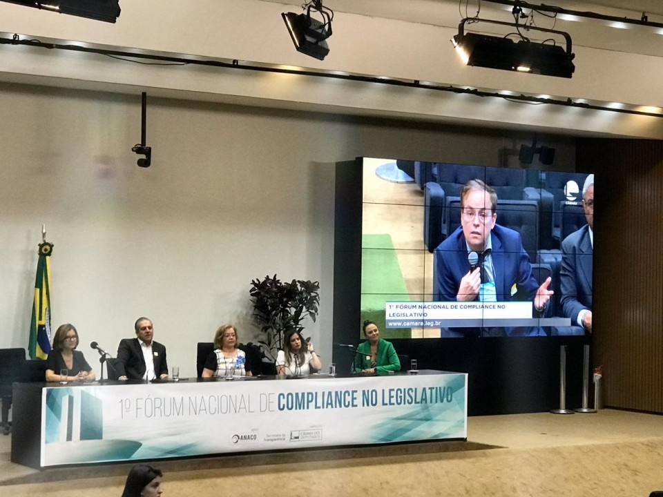 Wagner Giovanini participa do 1º Fórum Nacional de Compliance no Legislativo